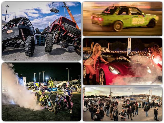 Γιάννενα: «Βούλιαξαν» τα Γιάννενα στο 11ο Motor Festival!....Χιλιάδες θεατές στο Π.Ε.Α.Κ.Ι.