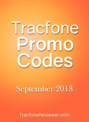 Tracfone promo code sept 2018