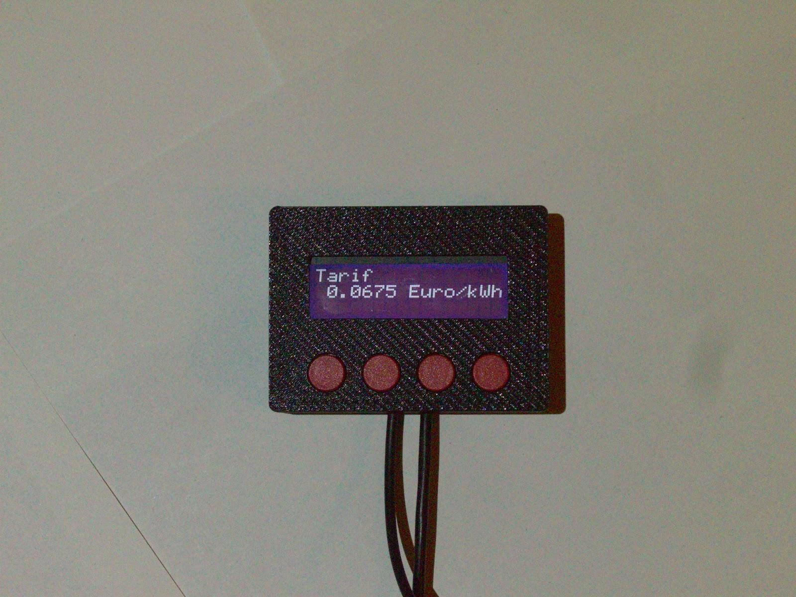 elektrotino gas verbrauchsanzeige m oder gas kostenanzeiger oder einfach gas logger. Black Bedroom Furniture Sets. Home Design Ideas