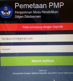 Cara Mengatasi Aplikasi PMP Tidak Terhubung dengan Dapodik