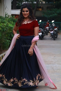Actress Aathmika in lovely Maraoon Choli ¬  Exclusive Celebrities galleries 059.jpg