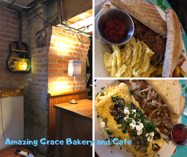 Amazing Grace Bakery and Cafe for a fresh and filling breakfast in Canal Park of Duluth, Minnesota