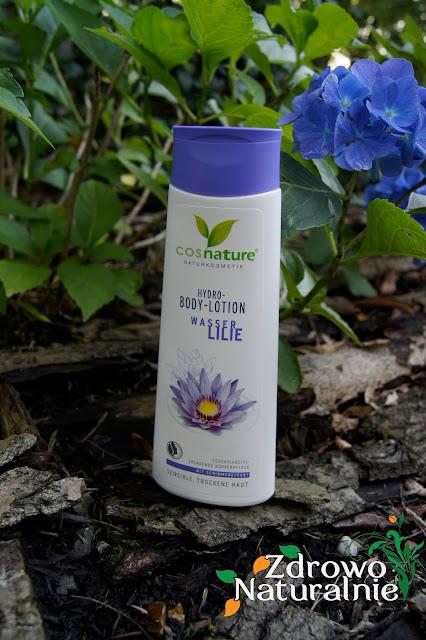 Cosnature - Naturalny super nawilżający Hydrolotion do ciała z lilią wodną