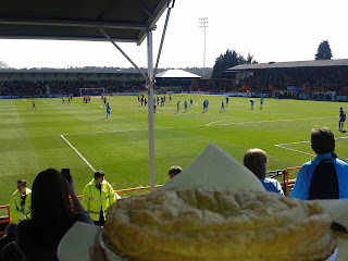 Pukka Pie at Half Time