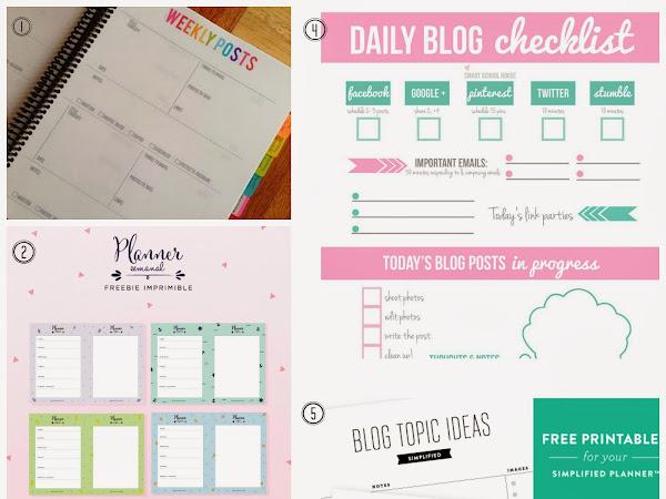 Kit Blogger calendar planner
