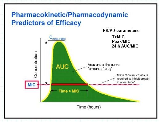 Farmakokinetik dan farmakodinamik Antibiotik