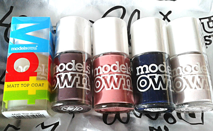 Models Own Nail Polishes