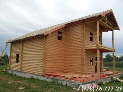 Строительство деревянных частных домов