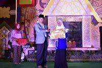 Indah Kartikasari Raih Bonus Rp50 juta dari Pemprov NTB
