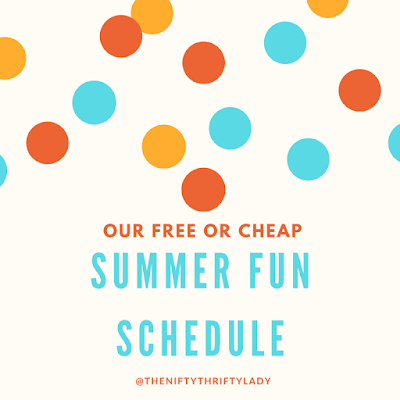Free or Cheap Summer Fun Ideas