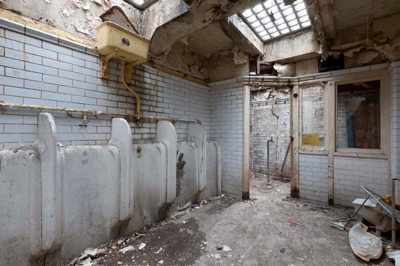 Crystal Palace Underground Toilets Renovation