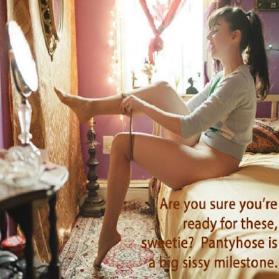 Ready for a new sissy milestone - Sissy TG Caption