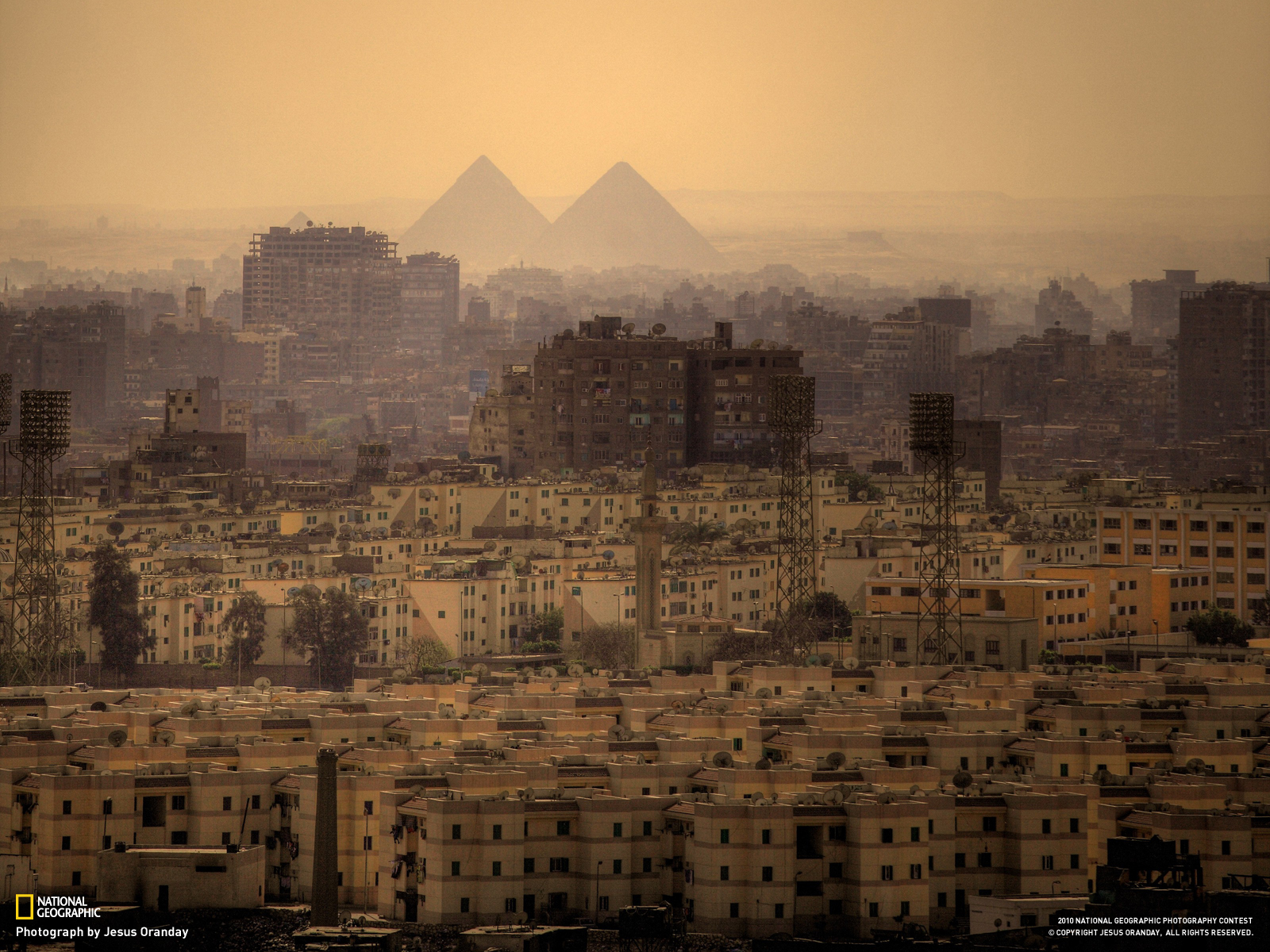 The most beautiful pyramids of Giza from houses in Egypt and the Pharaohs
