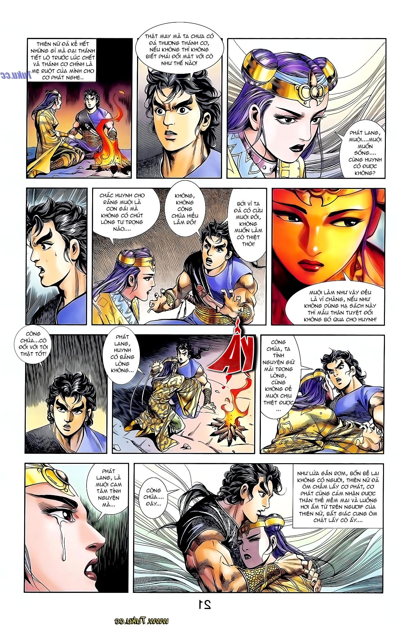 Cơ Phát Khai Chu Bản chapter 129 trang 18