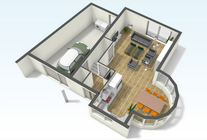 Design and Create your own Home in 3D using FREE Floorplanner 2