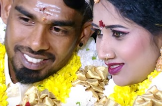 Weding hilight Nimal &Sutharsini