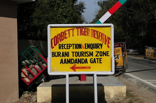 Tourism zones for jungle safari in Jim Corbett National Park