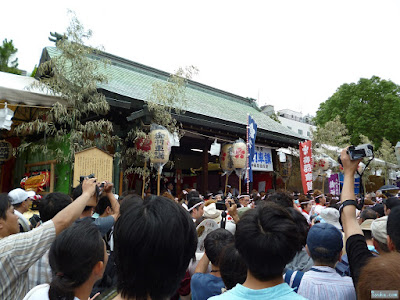 大阪天満宮天神祭り