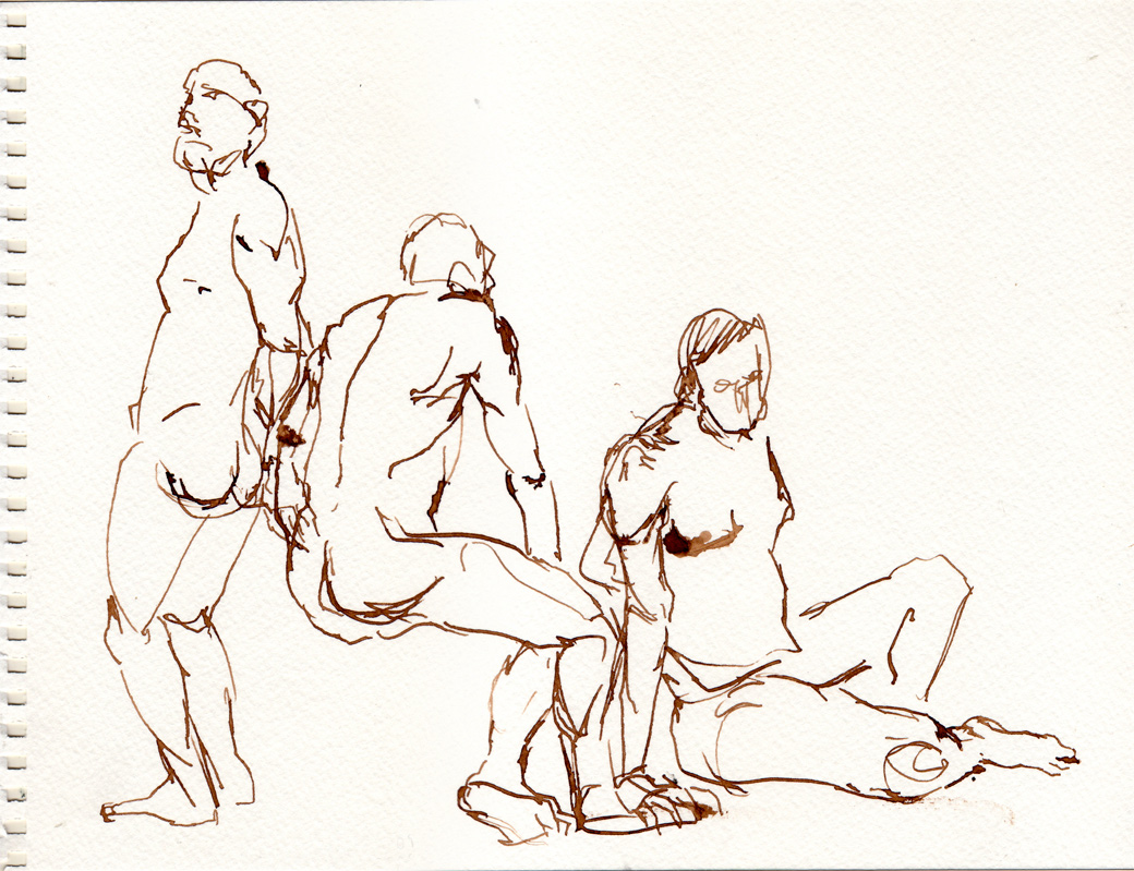Life Drawing Page One (2009)