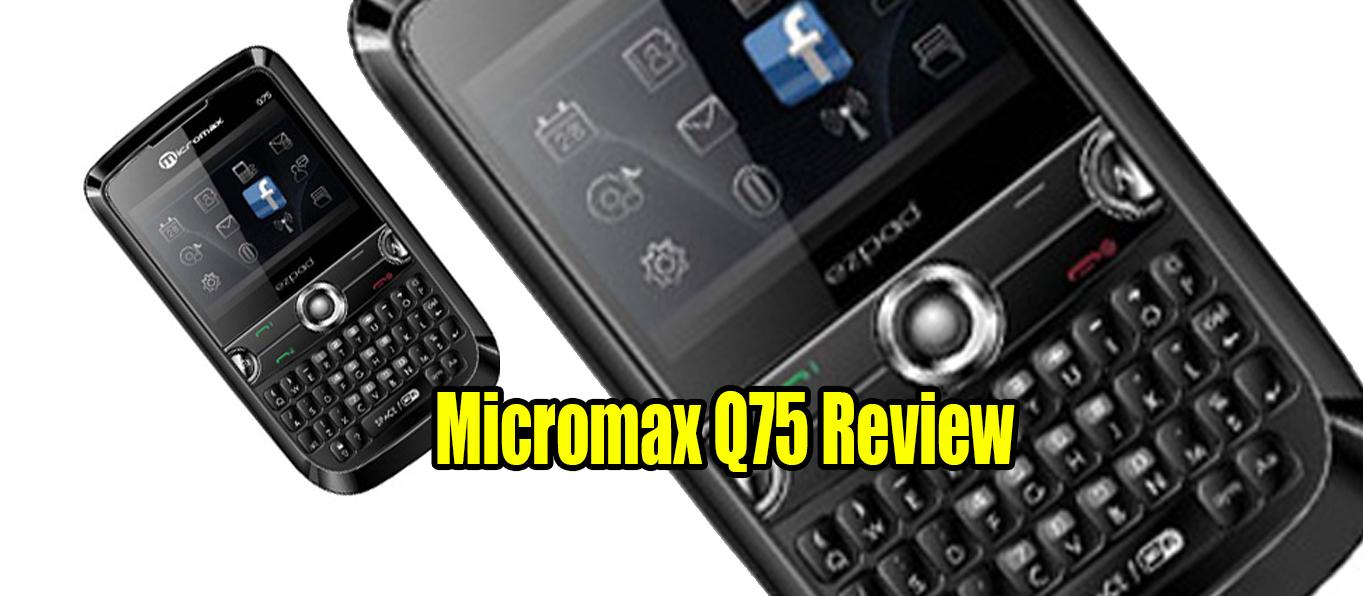 Micromax Q75