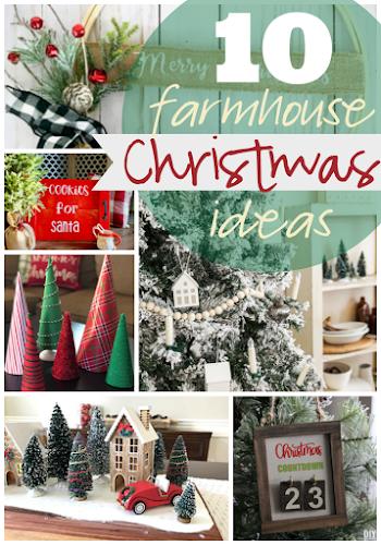 Ginger Snap Crafts 10 Farmhouse Christmas Ideas