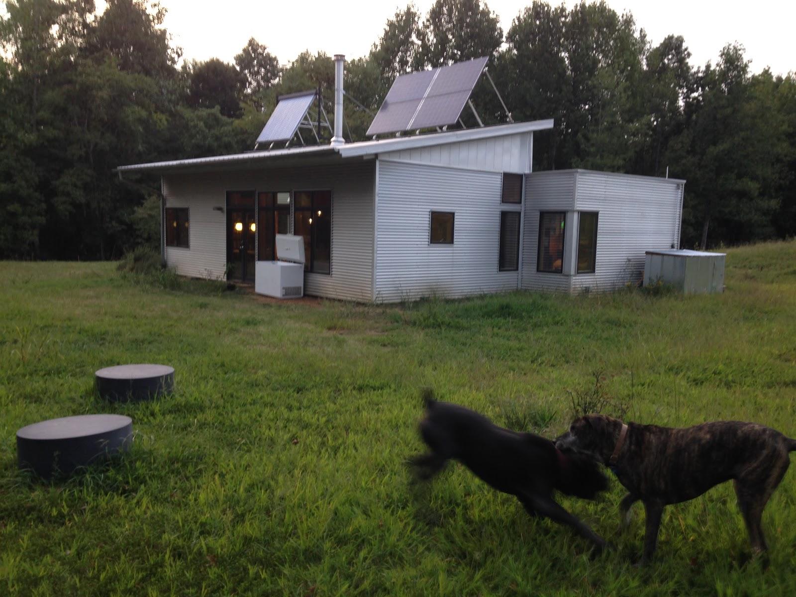 Modern Off Grid Prefab House Is Chock Full Of DIY