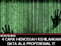 4 Cara Mencegah Kehilangan Data Ala Profesional IT