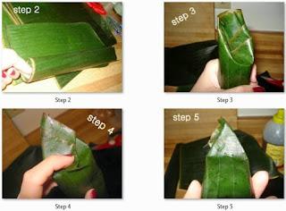 Cara Membuat Lontong Daun Pisang