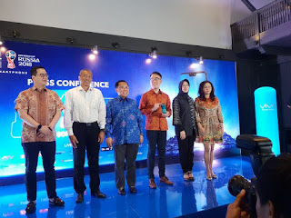 Press Conference Vivo V9 Grand Launch at Borobudur