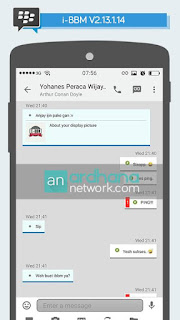 BBM Mod Iphone Style IOS Versi 2.13.1.14 Terbaru 2016