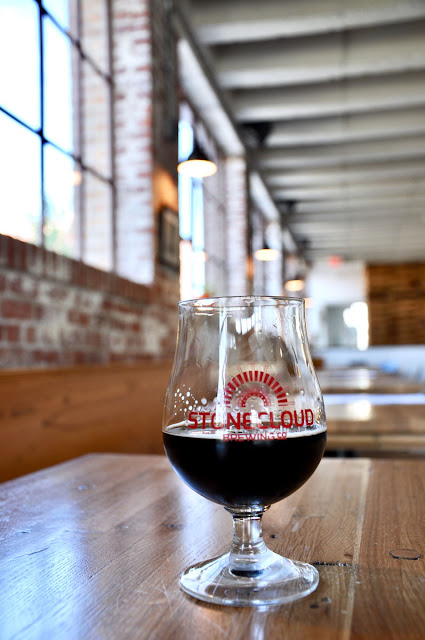 A Sunday beer at Stonecloud Brewery in OKC