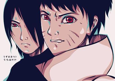 Fan Art Naruto dan Sasuke