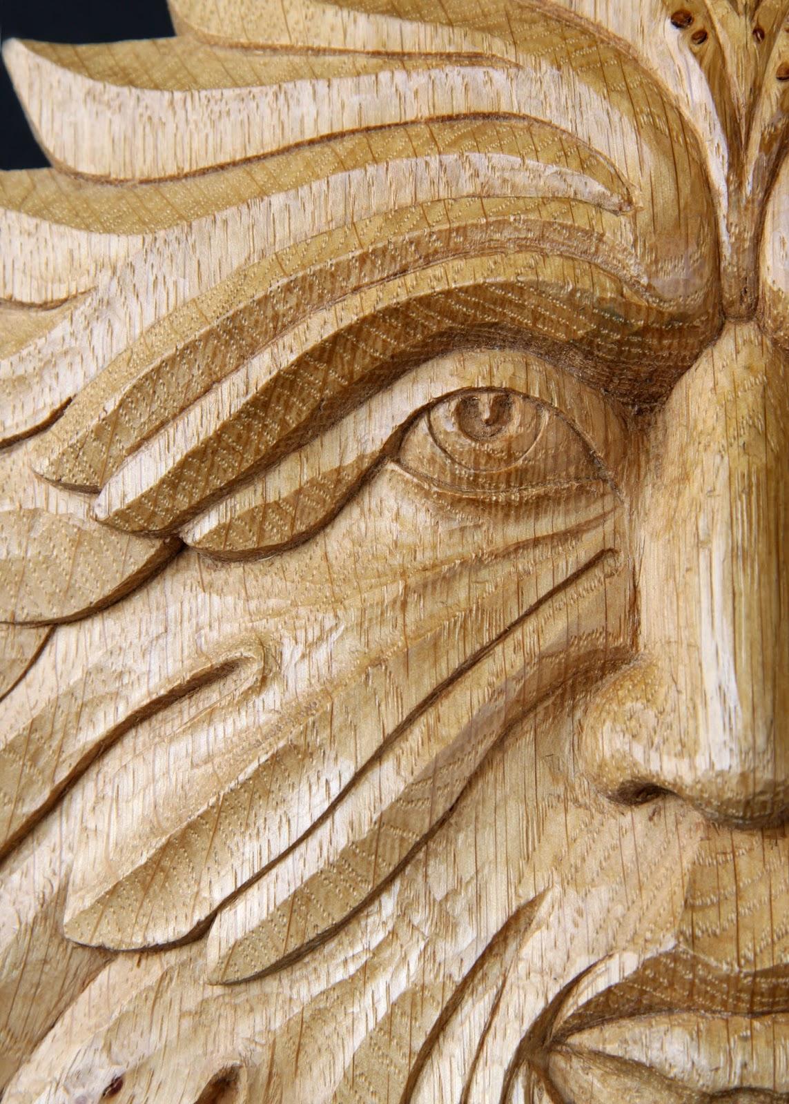 Рука резные статуи the green man drujdi wood