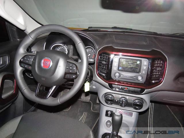 Fiat Toro 1.8 Flex Automática 2016 - interior - painel