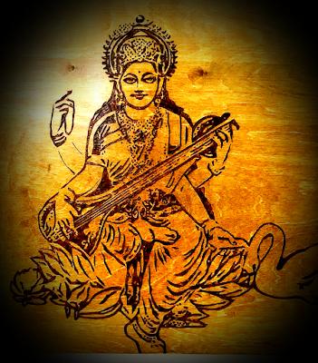 Pengertian Dan Makna Simbol Atribut Dewi Saraswati