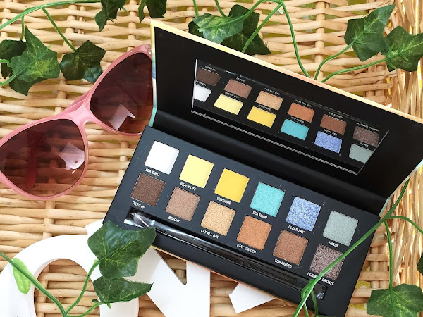 W7 Life's a Beach Eyeshadow Palette + Giveaway!! (CLOSED)
