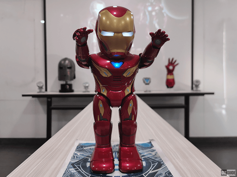 UBTECH launches an Iron Man programmable robot with AI/AR in PH