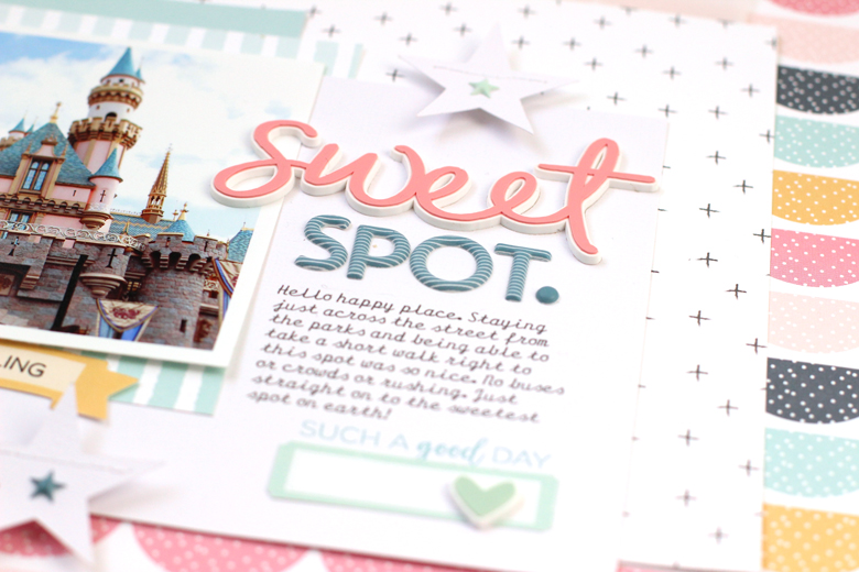 Nancy Damiano Felicity Jane Disneyland Scrapbooking