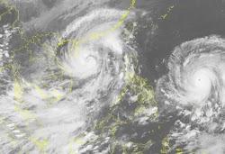"""Lại xuất hiện siêu bão Haima, nguy cơ """"bão chồng bão"""" có nguy cơ tiếp tục vào Quảng Ninh"""