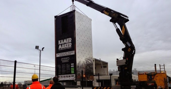 طابعات ثلاثية الأبعاد لبناء منزل في هولندا - مجلتك المعمارية