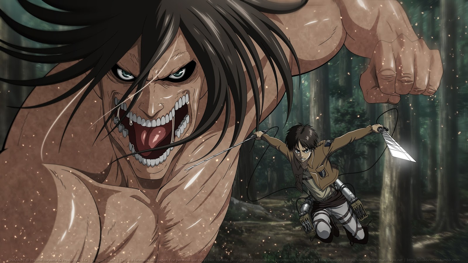 Yuriko nakao/getty images attack on titan is a popular anime series that has also spawned movies and video games. ANIME - WALLPAPER - GAMES: Attack On Titan Wallpapers
