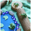 The Imagination Tree: 5 Speckled Frogs Natural Small World Play