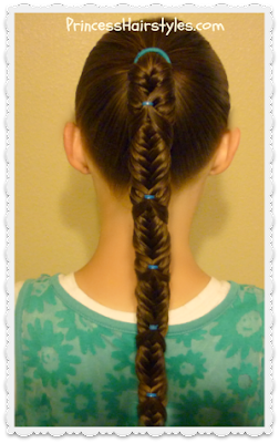 fishtail wrap braid ponytail tutorial