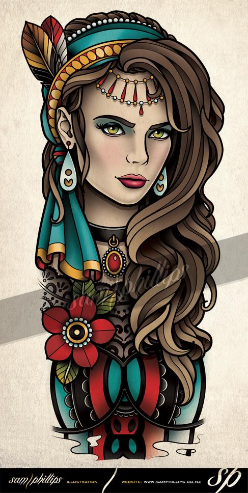 Gypsy (14) - Brenda & The Rattlesnake