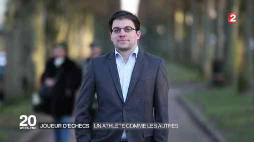 Le Français Maxime Vachier-Lagrave, meilleur Elo de la compétition d'échecs - Photo © France 2