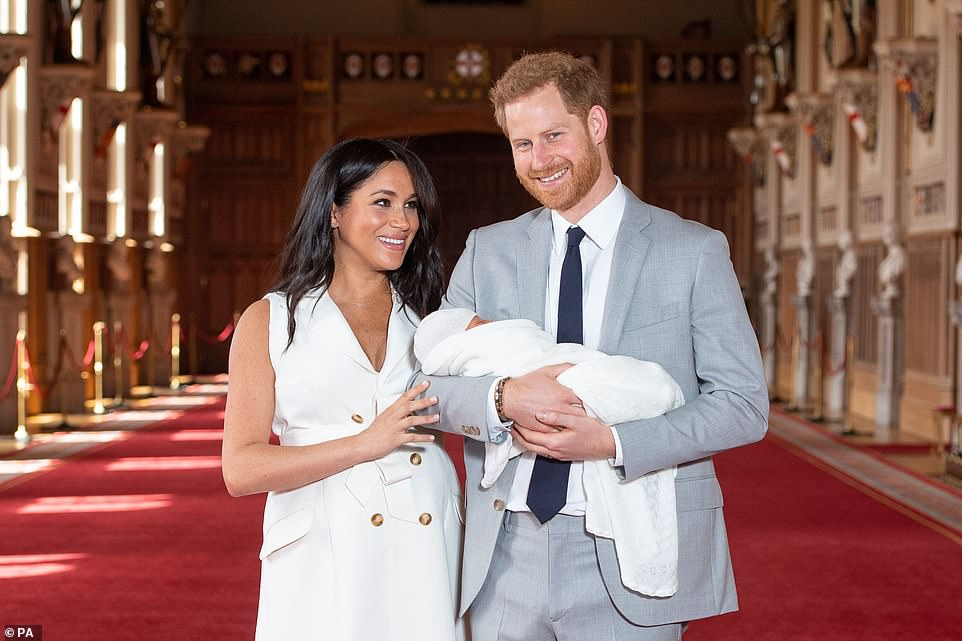 Meghan and Harry reveal baby Sussex to the world