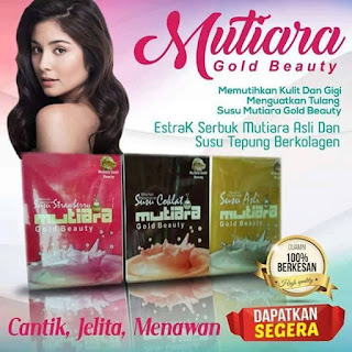 SUSU MUTIARA GOLD BEAUTY
