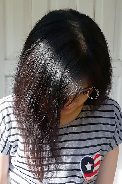 Review NYU Hair Color, Review NYU Black Blue, Review pewarna rambut NYU, Review Cat rambut NYU, NYU cat rambut review, NYU hair colour review, NYU creme hair colour review, NYU hair color black blue, NYU hair color hitam biru review