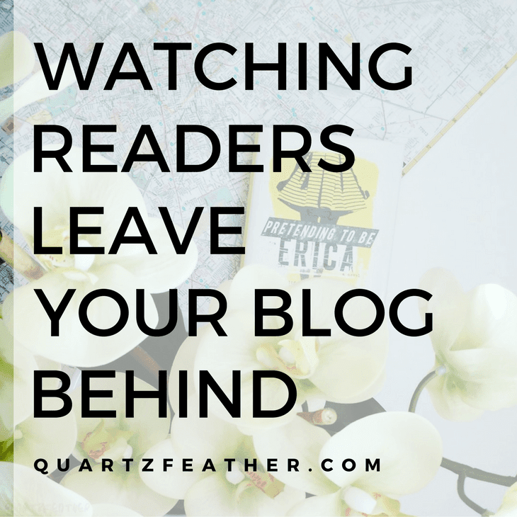Watching Readers Leave Your Blog Behind