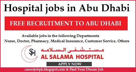 Hospital jobs in Abu Dhabi